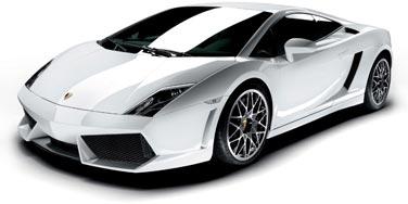 Lamborghini Gallardo de perfil
